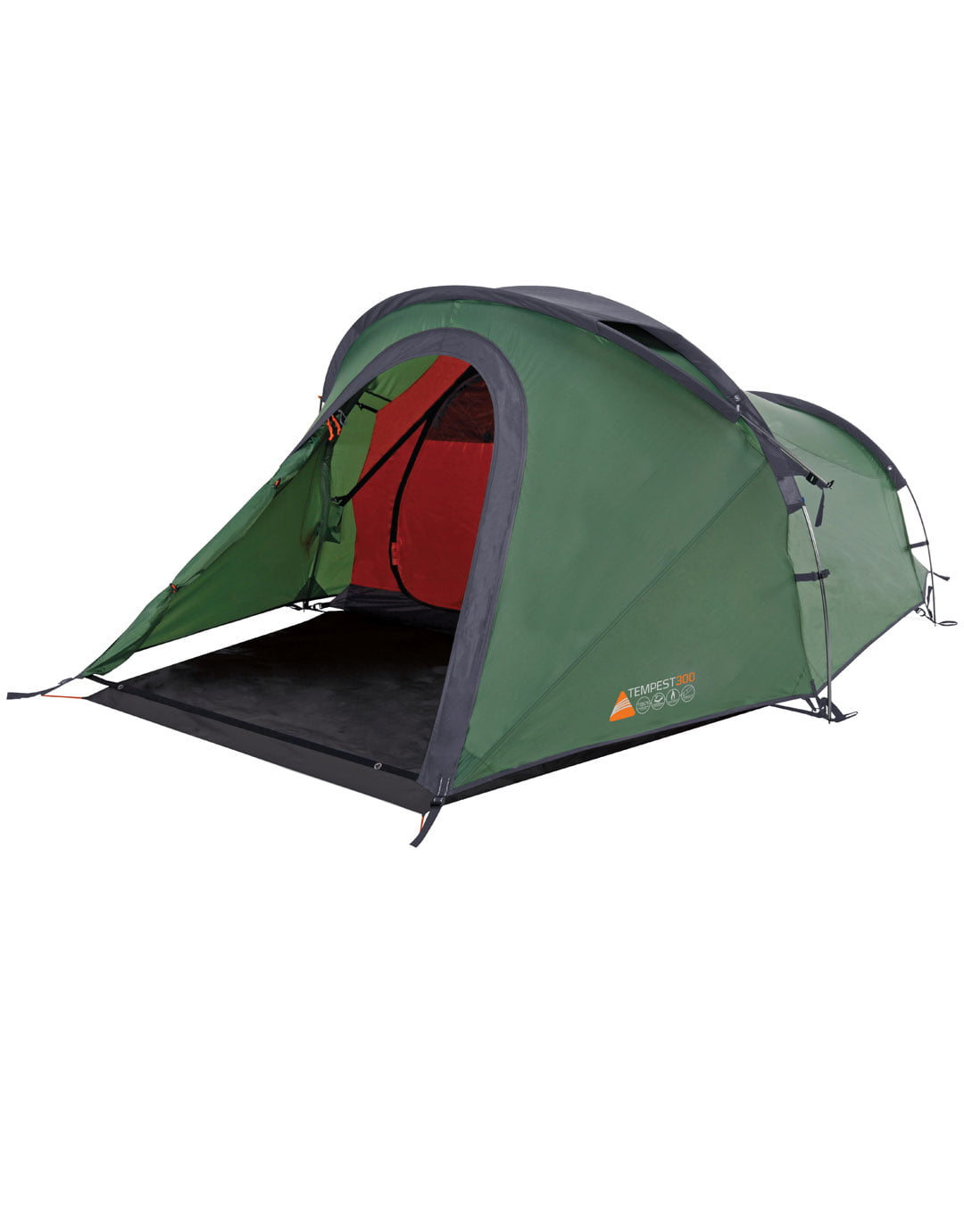 Standard 3 Person Tent Hire - CampingKitHire.com